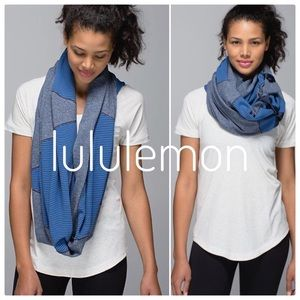{lululemon} like new vinyasa scarf quilt